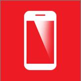 fixed iphone, ipad screen device