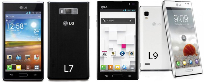 Repair Express Vernon - LG Optimus L7 P700 L9 P760 P769