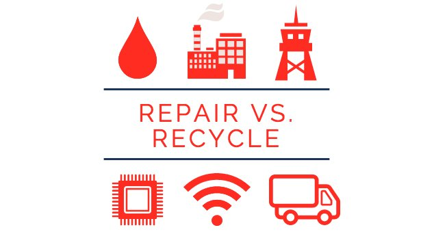 Repair Express Recycle Costs Polltion Save Repair